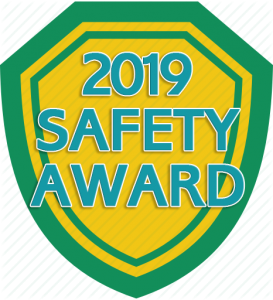 2019 Safety Award